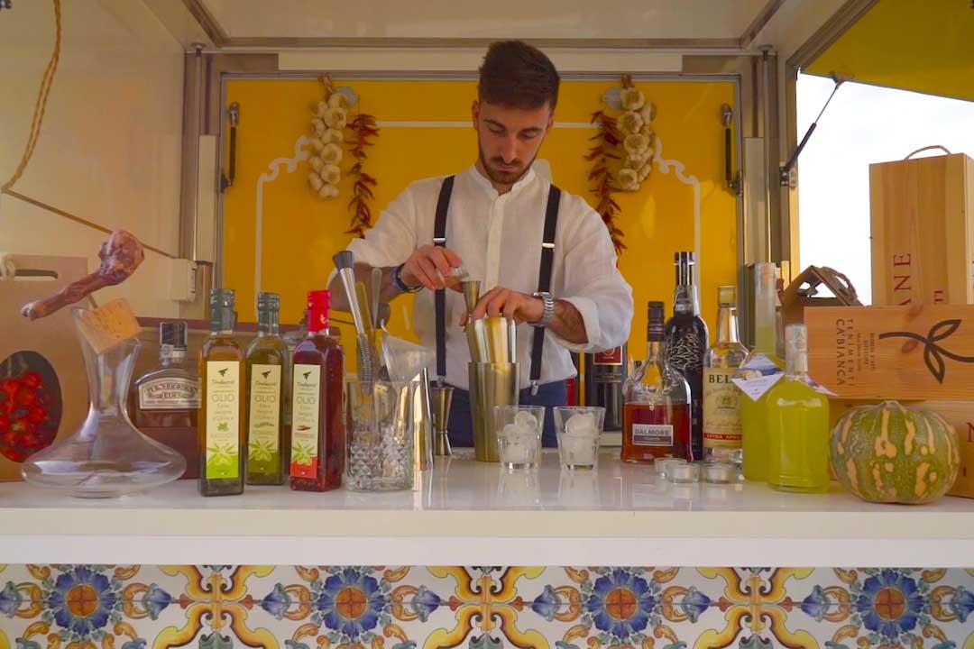 Cocktail bar food truck