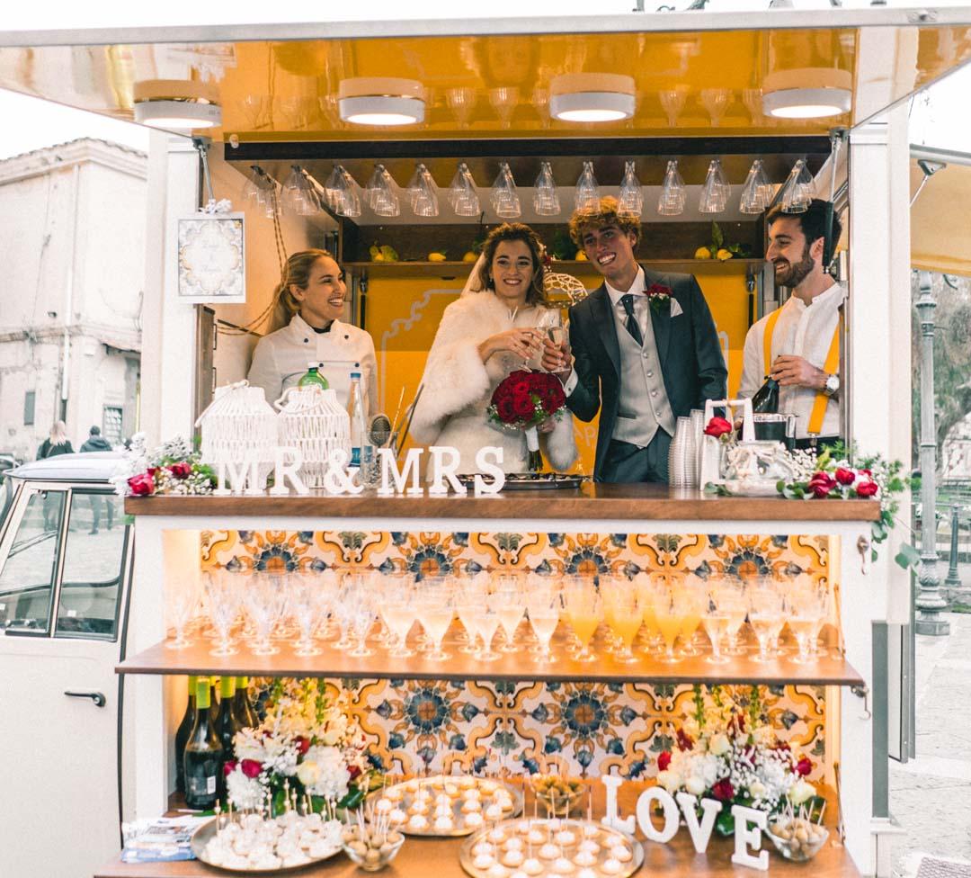Champagne food truck
